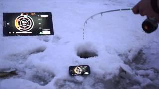 Deeper FishFinder. Работа эхолота зимой. Режим подледной ловли.