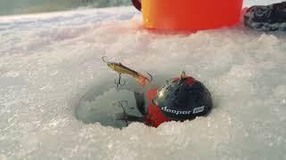 Как пользоваться эхолотом Deeper PRO в зимней рыбалке