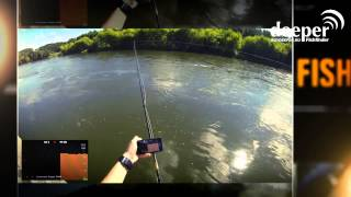 Портативный эхолот - Deeper Smart Fishfinder
